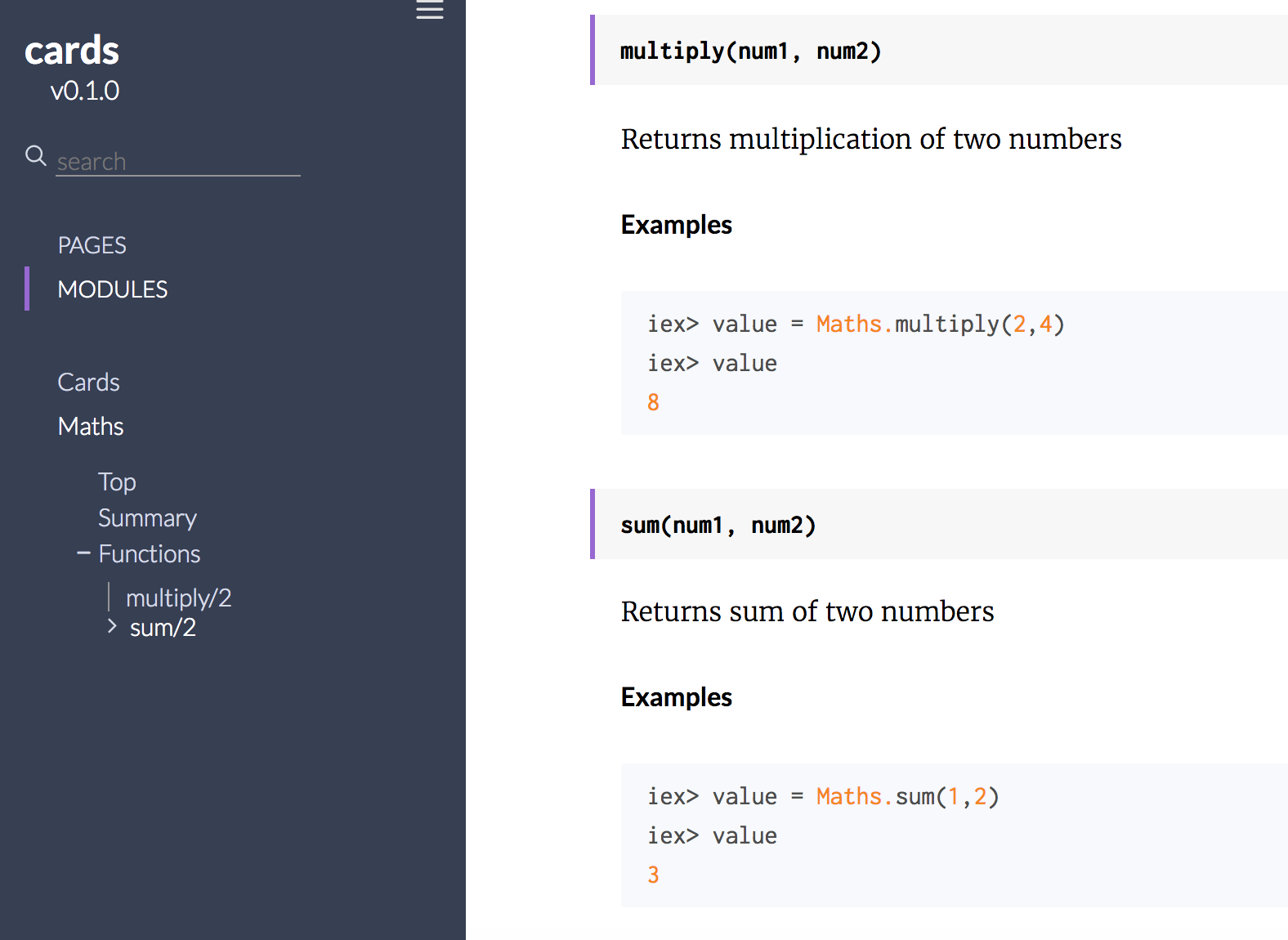 Interesting feature of Elixir: Documentation as Tests